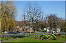 SO9098 : Public park in Wolverhampton Ring Road by Roger  Kidd