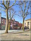 SJ8298 : Salford, Bexley Square by David Dixon