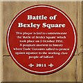 SJ8298 : The Battle of Bexley Square by David Dixon