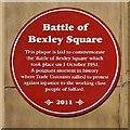 SJ8298 : The Battle of Bexley Square by David Dixon