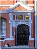 SJ8298 : Manchester and Salford Savings Bank Doorway by David Dixon