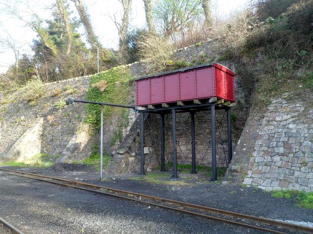 Water tower at Caernarfon railway station