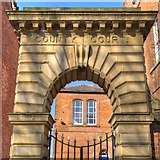 SJ8298 : Arch to County Court, by David Dixon