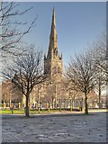SJ8298 : The Cathedral of St John,  viewed from Bank Place by David Dixon