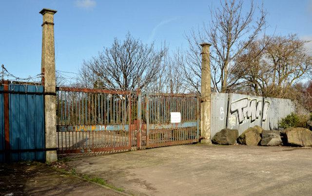 Old harbour gates, Belfast