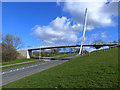 SE8809 : Foot and cycle bridge over West Common Lane by Oliver Dixon
