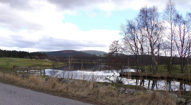 Pond at Mill of Strachan