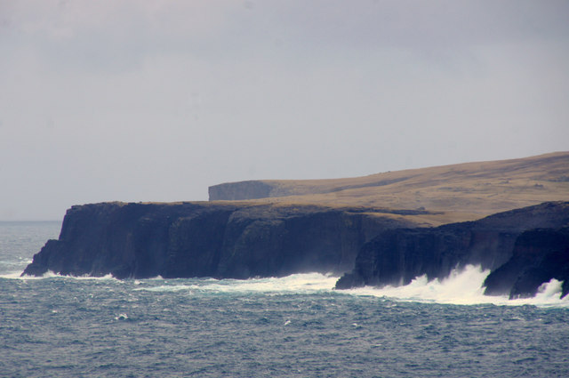 North Head, Tingon, from Leascole, Eshaness