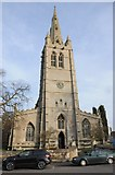 SK8608 : All Saints church, Oakham by Philip Halling