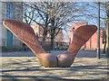 SJ8298 : Irwell Sculpture Trail, The Seed by David Dixon