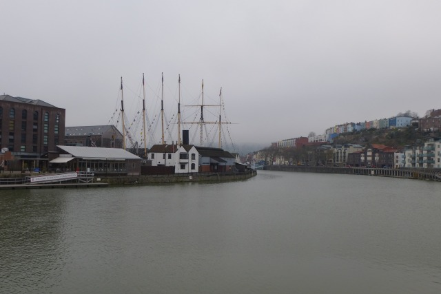 Towards SS Great Britain