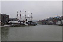 ST5772 : Towards SS Great Britain by DS Pugh