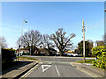 TM2245 : Ashdale Road, Kesgrave by Adrian Cable