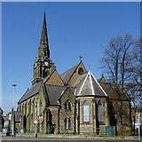 SO9098 : St Mark's Church in Chapel Ash, Wolverhampton by Roger  Kidd