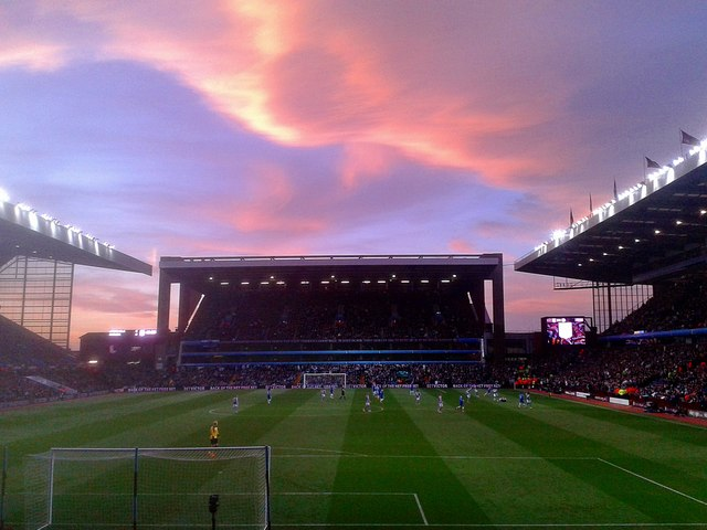 Aston-Villa Park Sunset