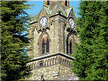 SO9098 : Detail of St Mark's Church, Wolverhampton by Roger  Kidd