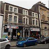 SS7597 : Burger Station and Buffalo Bill, Neath by Jaggery