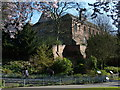 SK5804 : Leicester Castle and Castle Gardens by Mat Fascione