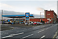 NY4055 : James Street Service Station by Rose and Trev Clough