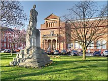 SJ8298 : Queen Victoria, Salford Museum and Art Gallery by David Dixon