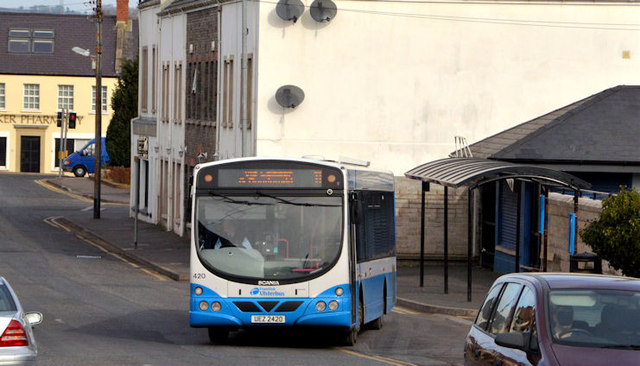 Bus, Comber (March 2014)