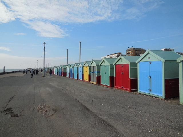 Beach Huts - Western Esplanade, Hove