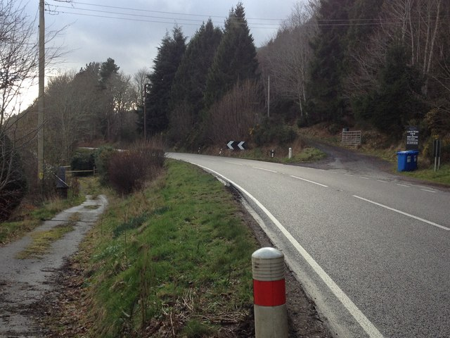 A82 near Lochend by Steven Brown
