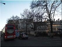 TQ2879 : Buckingham Palace Road looking towards Grosvenor Gardens by David Howard
