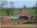 TF3601 : New road and bridge - The Nene Washes by Richard Humphrey