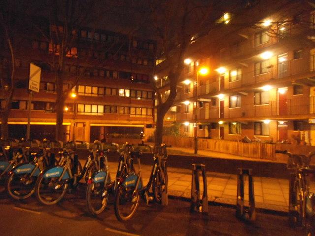 Flats on Westbridge Road, Battersea
