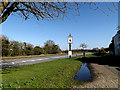 TM3690 : B1062 Watch House Hill & Tally Ho Tearooms sign by Adrian Cable