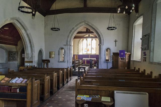 Interior St Andrew S Church Jevington 169 Julian P Guffogg