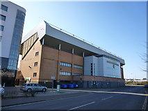 TG2407 : The Barclay Stand at Carrow Road by Richard Humphrey