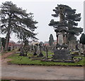 ST2987 : Studt family memorial in St Woolos Cemetery, Newport by Jaggery