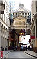 TQ3381 : Leadenhall Market on Whittington Avenue by Steve Daniels