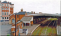 TA2609 : Grimsby Town station, 1997 by Ben Brooksbank