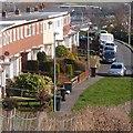 ST2986 : Lamb Close, Gaer Estate, Newport by Robin Drayton