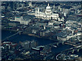 TQ3281 : St Paul's Cathedral from the air by Thomas Nugent
