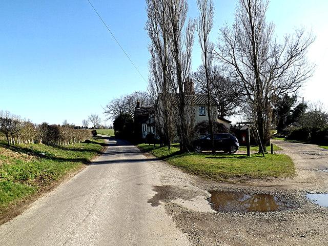 School Road & Sheepwalk Postbox