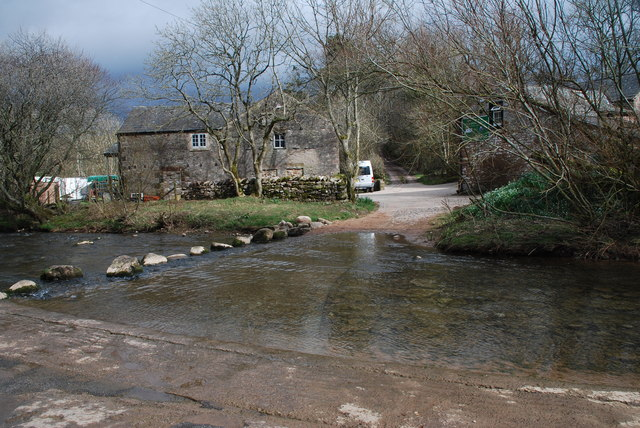 Ford and Stepping Stones at Ormside Mill