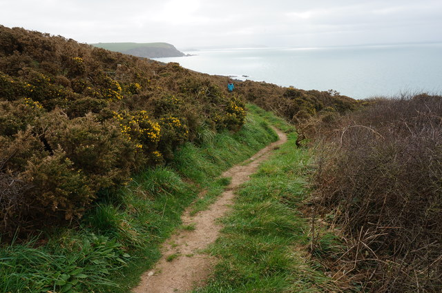 Coast Path to Mothercombe