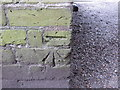 SU9368 : Ordnance Survey Cut Mark by Peter Wood