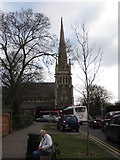 SU7272 : Christ Church at Reading by Peter Wood