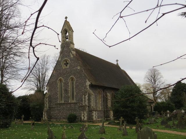 St John the Baptist Church at Kidmore End