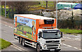 "J3775 : ""Mash Direct"" lorry, Belfast by Albert Bridge"