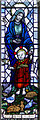 TV5597 : Stained glass window, Ss Simon & Jude church, East Dean by J.Hannan-Briggs