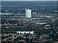 TQ1179 : Southall gas holder from the air by Thomas Nugent