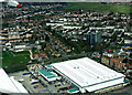 TQ1175 : Hounslow from the air by Thomas Nugent