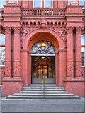 SJ8198 : Entrance to Peel Building by David Dixon