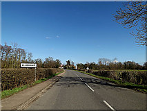 TM3592 : Entering Ellingham on Yarmouth Road by Adrian Cable
